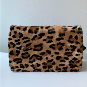 Leopard crossbody purse